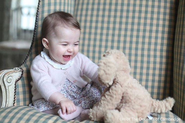 Principessa Charlotte di Cambridge: le prime foto