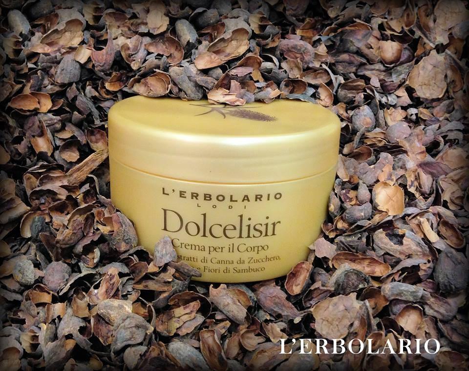 Crema corpo della linea Dolcelisir de L'Erbolario.