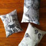 Un cuscino con la vostra foto: un regalo tenero e personalissimo