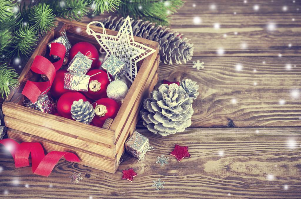 Idee graziose per arredare per Natale il tuo monolocale.