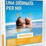 Smartbox Una giornata per noi: 2035 sfiziose degustazioni, momenti di relax e attività fitness, 1 esperienza a scelta tra gourmet o benessere per 2 persone