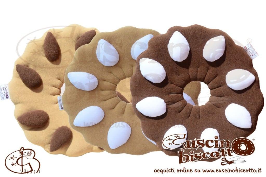 CuscinoBiscotto - Bundle -Tris ghirlanda - (fatto a mano in Italia)