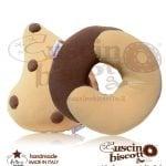 CuscinoBiscotto Bundle Offerta - Dolce contatto + Lacrima di cioccolato (fatto a mano in Italia)