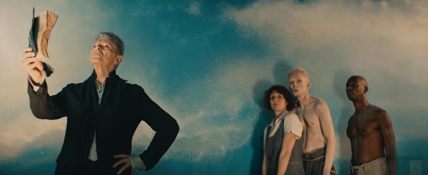 Un frame di Blackstar, l'ultimo singolo di David Bowie.