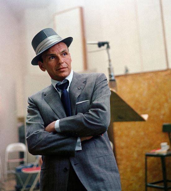 Cenere sotto il Sole, Sinatra alla Capitol Records durante la registrazione per 'Monique', 1954