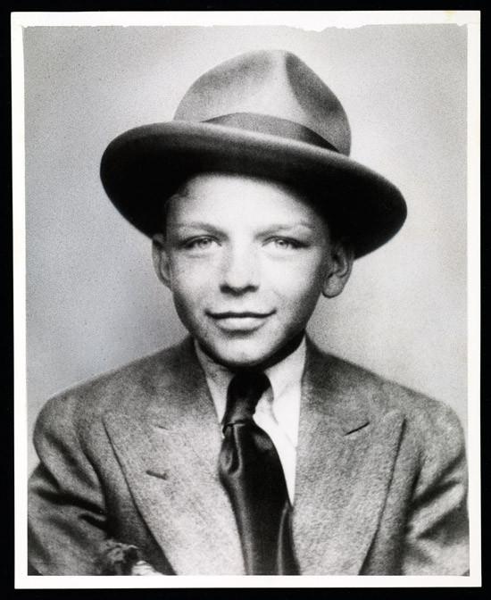 Già alla moda, 1925 circa, archivi famiglia Sinatra.