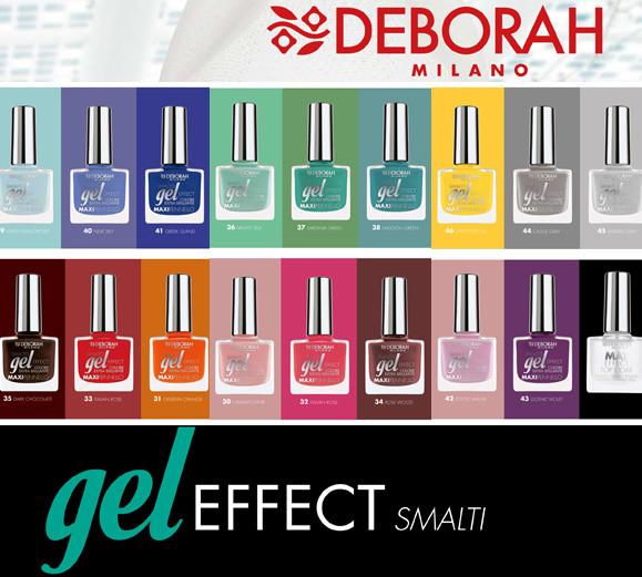 Smalti Gel Effect Deborah Milano.