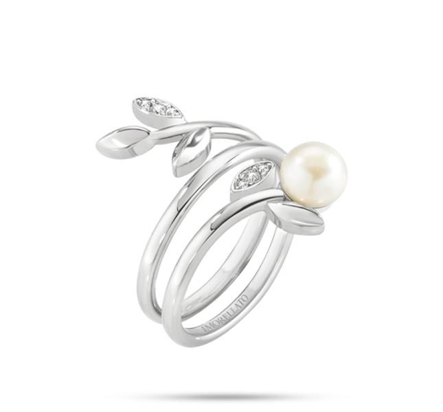 Morellato linea Gioia in acciaio, cristalli e perle