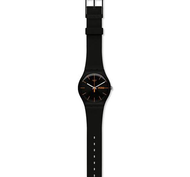 Swatch orologio nero