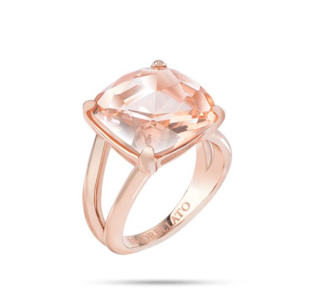 Morellato linea Fioremio in acciaio, pvd oro rosa e cristalli