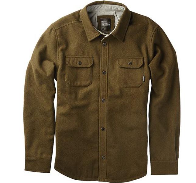 Nixon giacca Corporal in misto lana, con bottoni e fodra in taffetà