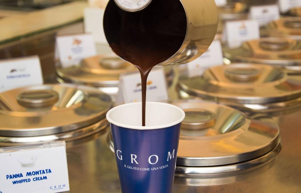 La cioccolata di Grom.