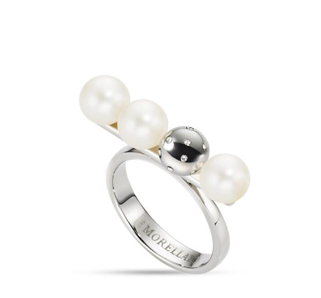 Morellato linea Lunae in acciaio, perle e cristalli