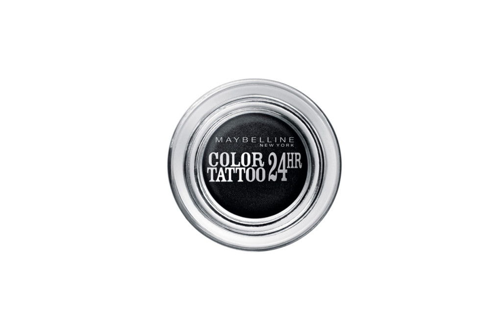 Color Tattoo 24H Timeless Black di Maybelline New York