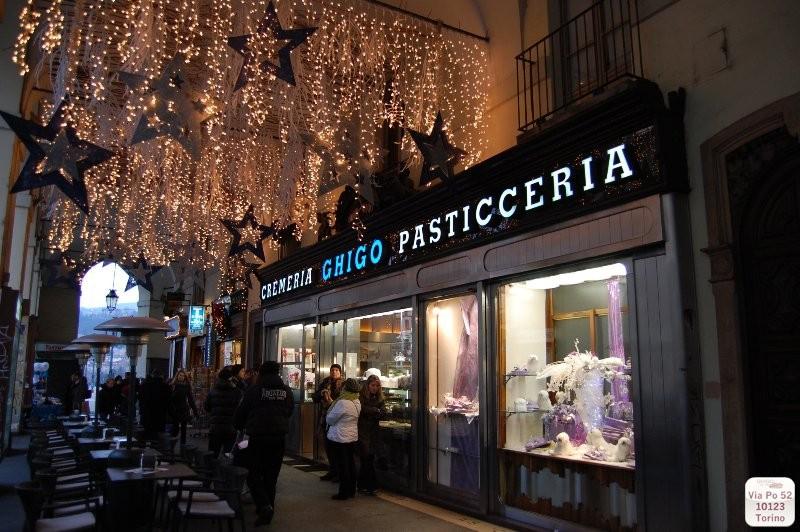 Pasticceria Ghigo, Via Po 52, Torino.