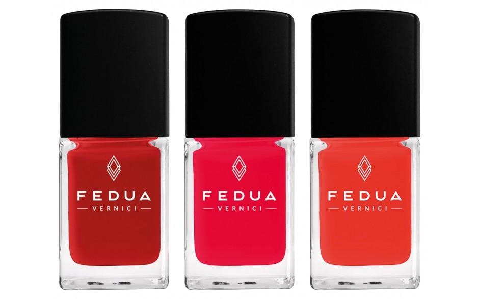 Fedua Love Box - Currant Red e gli inediti Warm Red e Strawberry Red.
