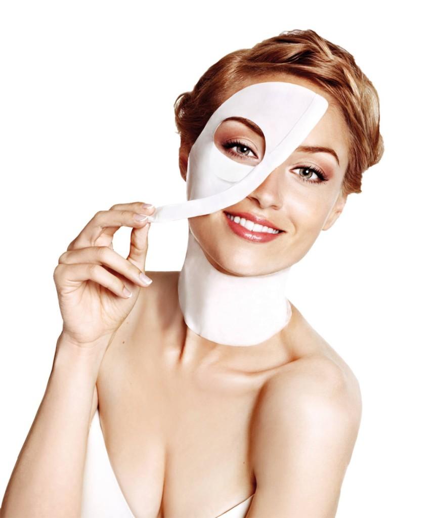 Maschera viso in tessuto - crediti foto Iroha Nature