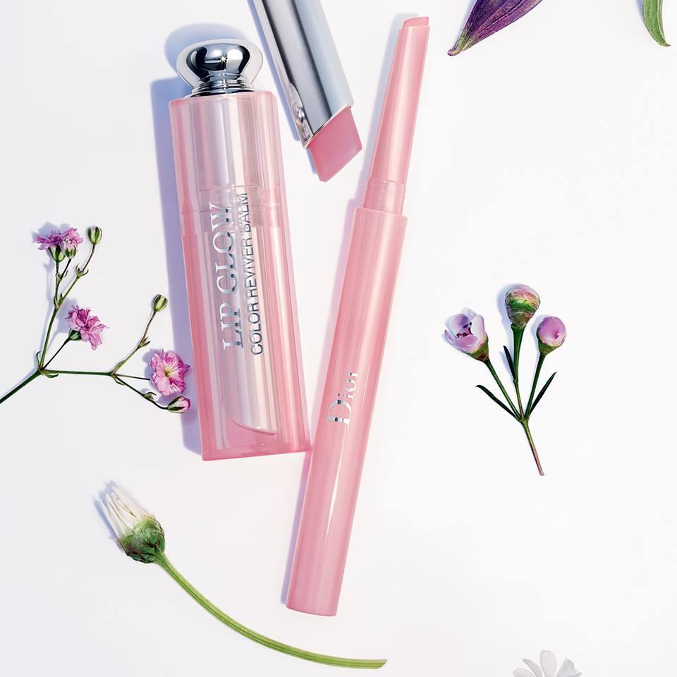 Dior Addict Lip Glow nella tonalità Lilac + matita contorno labbra