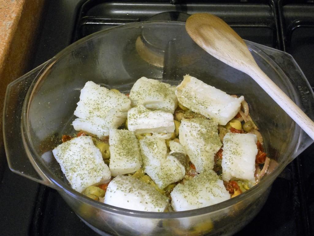 Pasta al brodetto di baccalà