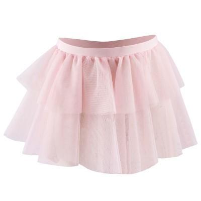 Gonnellino danza classica bambina tulle rosa - Domyos