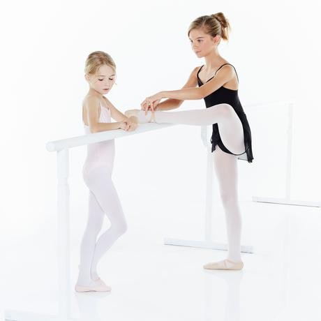 Gonnellino danza classica bambina in voile nero - Domyos