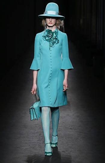 Caterina de' Medici, il Rinascimento, gli anni '20, '30 e '80 e lo street style ispirano la collezione Gucci FW 2016-2017. Photo credits: Gucci on Facebook