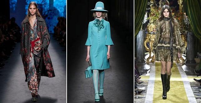 E' un fashion time travel con suggestioni che attingono dal sogno allo street style il primo giorno della Settimana della Moda di Milano FW 2016-2017.