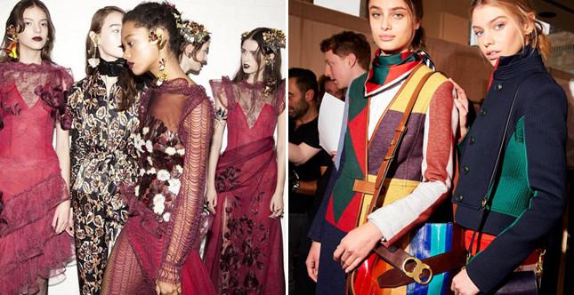 Urban-chic attitude e sensaulità barocca sono le due direttrici del day 6 della New York Fashion Week