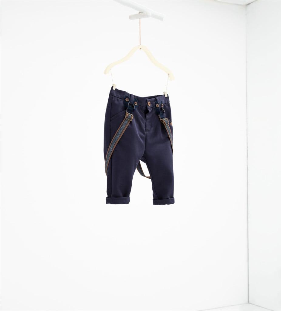 personalizzate il più votato reale donna Pantaloni bretelle - Zara kids - UnaDonna.it il magazine ...