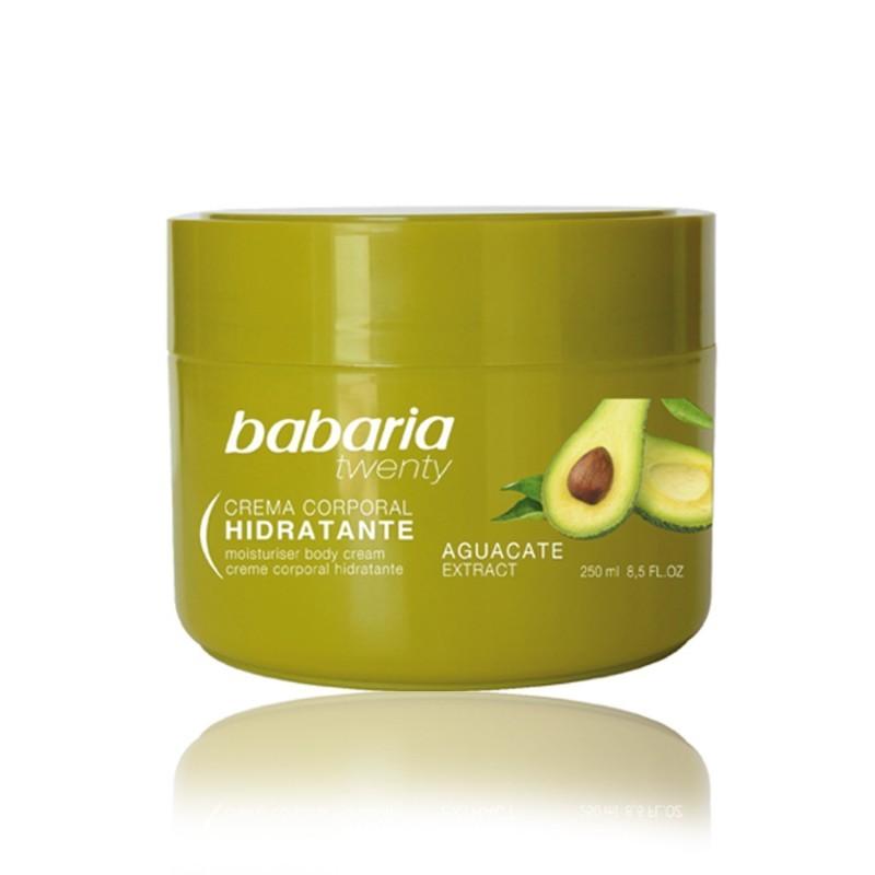 Crema corpo Avocado Babaria e Vitamina E