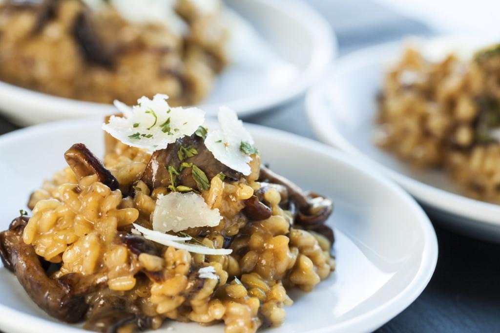 Una ricetta gustosa, profumata e facile facile: il risotto ai funghi porcini con il Bimby.