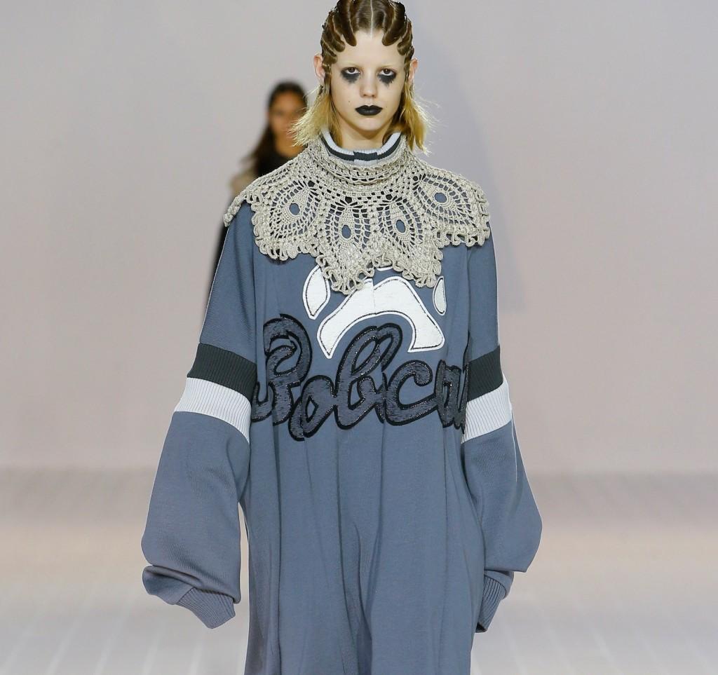 Marc Jacobs felpa oversize con maxi collo