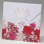 partecipazione matrimonio amiche della Sposa tema floreale