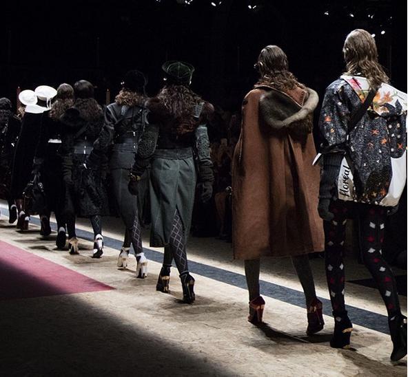 Prada sfilata Milano Fashion Week