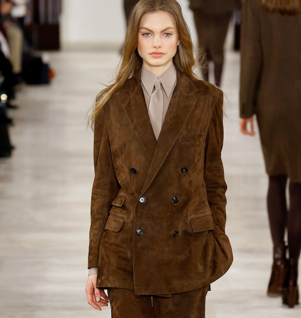 Ralph Lauren coat in velluto