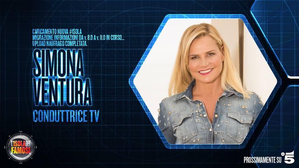 Simona Ventura, storica conduttrice del programma, ha deciso di mettersi in gioco come concorrente