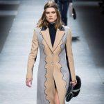 Versace coat lungo
