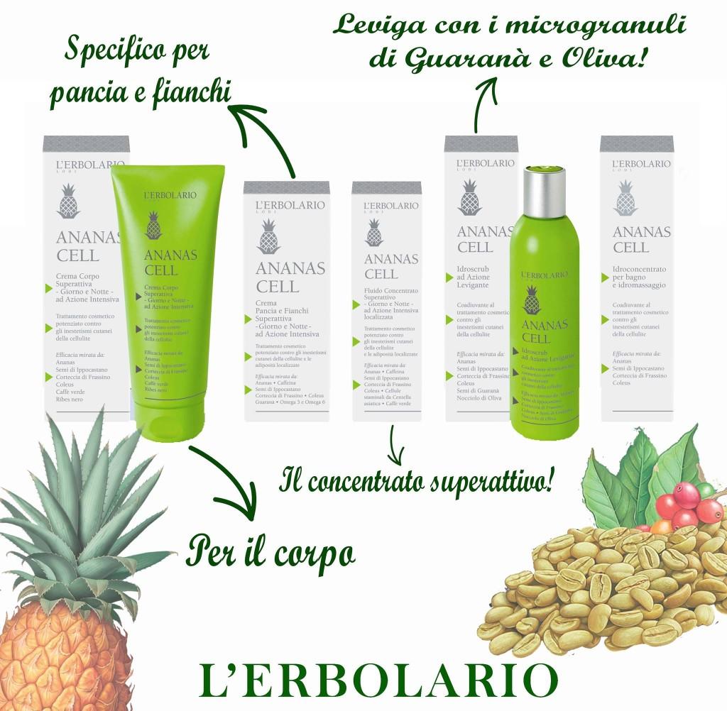 L'Erbolario Linea Ananas Cell