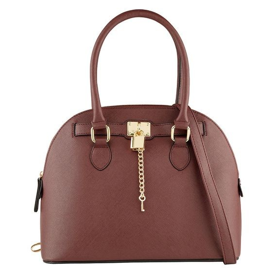 Una delle borse preferite di Taylor, l'Algo Bag in marrone