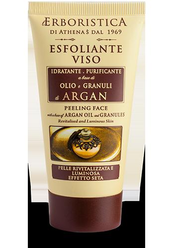 L'Erboristica Esfoliante Viso Olio e Granuli di Argan