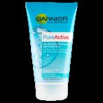 Garnier Skin Naturals PureActive Gel detergente esfoliante anti-punti neri