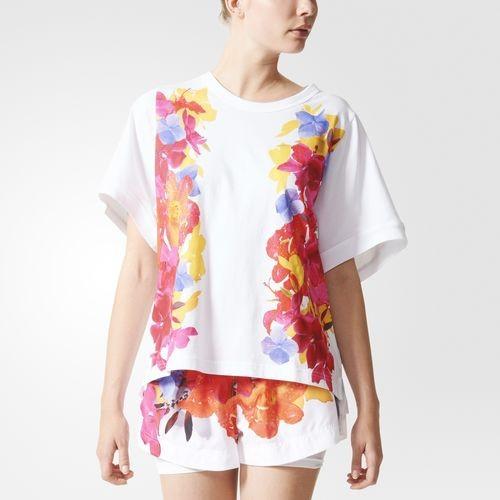 Adidas Essentials Blossom t-shirt ecologica in cotone 100 organico.