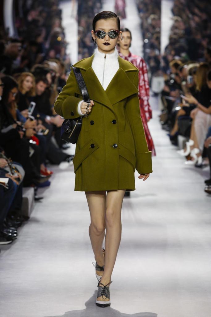 I capi della collezione Dior FW 2016-2017 sono pervasi da un'indiscutibile