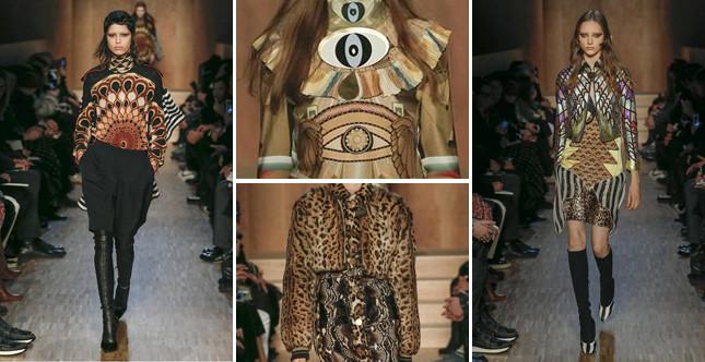 L'Antico Egitto è l'ispirazione e il tema conduttore della collezione Givenchy FW 2016-2017. Photo credits: Givenchy on Facebook