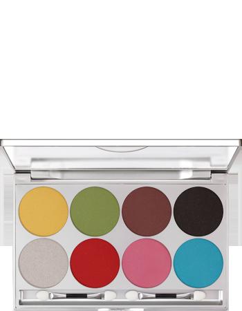 Un modo di glitter e di colori: Eye Shadow Glitter Palette 8 Colori – Kryolan, 95,85€