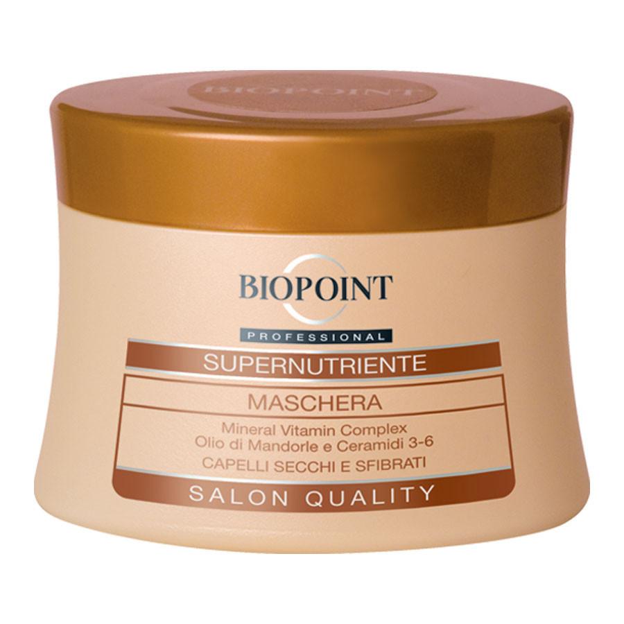 Biopoint Maschera Per Capelli Supernutriente Per Capelli Secchi E Sfibrati