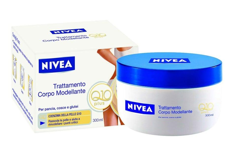 1) Trattamento Corpo Modellante Q10plus di NIVEA body con Coenzima Naturale Q10 e Iso-Proteine attive