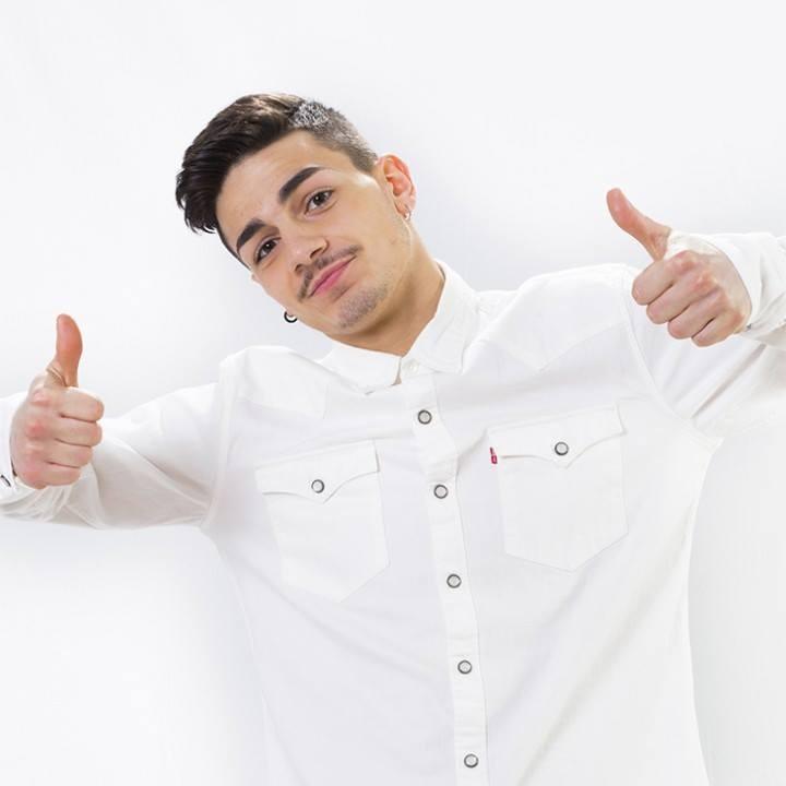 Alessio, ballerino della squadra bianca