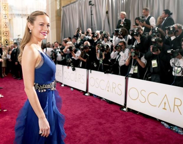 Trionfa Brie Larson come miglior attrice protagonista in un abito firmato Gucci