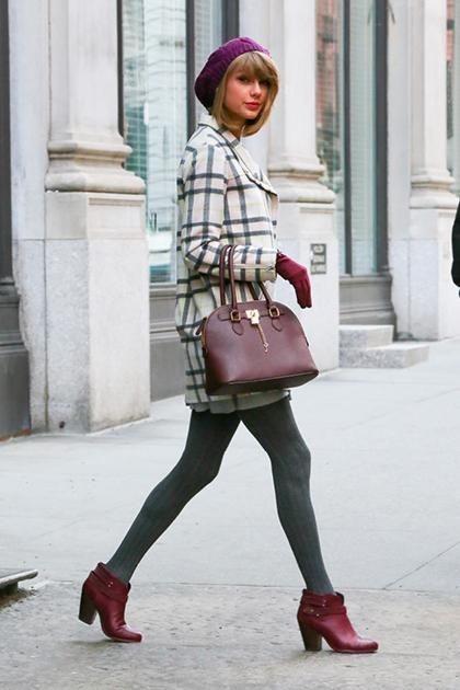 Le borse a mano sono tra le preferite di Taylor Swift